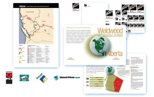 Weldwood operations identity work.